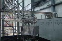 金明精机中央供料系统施工现场