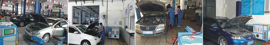 氢氧汽车除碳